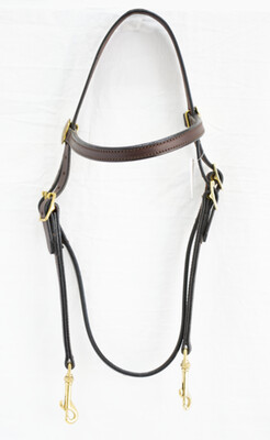 Blue Ribbon Training Bridle