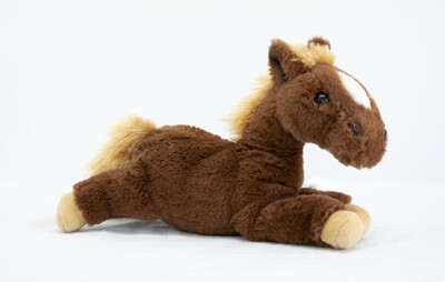 Brown Soft Toy Horse
