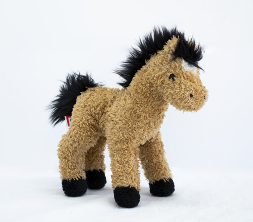 Bay Soft Toy Horse