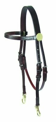Walsh Training Bridle w/ Snaps
