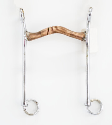 """Lovell Curb: Copper Wire Wrapped Arched 45* 4-1/2"""" x 7-1/2"""""""