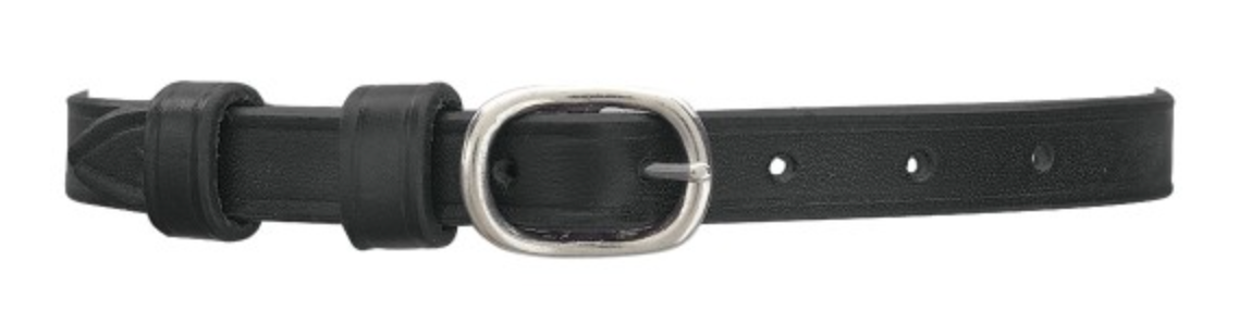 English Leather Spur Straps