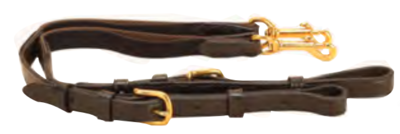 Buckle On Elastic Side Reins