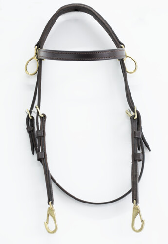 Walsh Side Check Training Bridle w/ Snaps