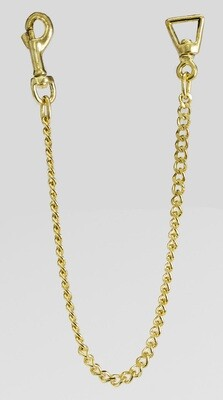"Fine Brass Plated 24"" Chain"
