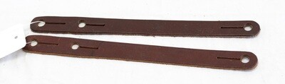 Leather Spur Tie Downs (Pair)