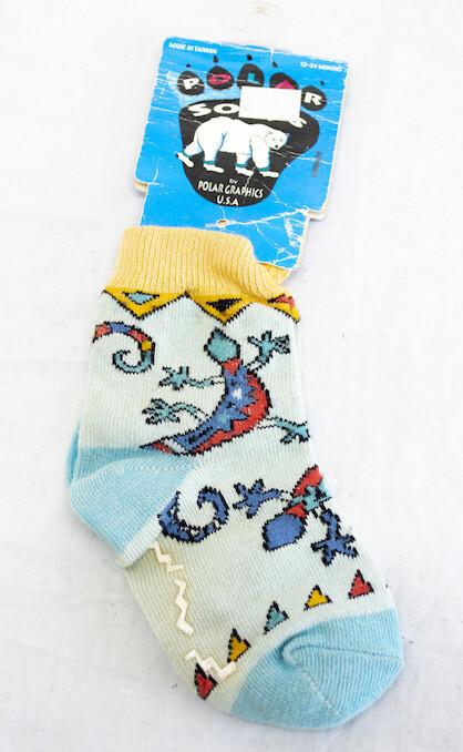 Polar Lizard Socks