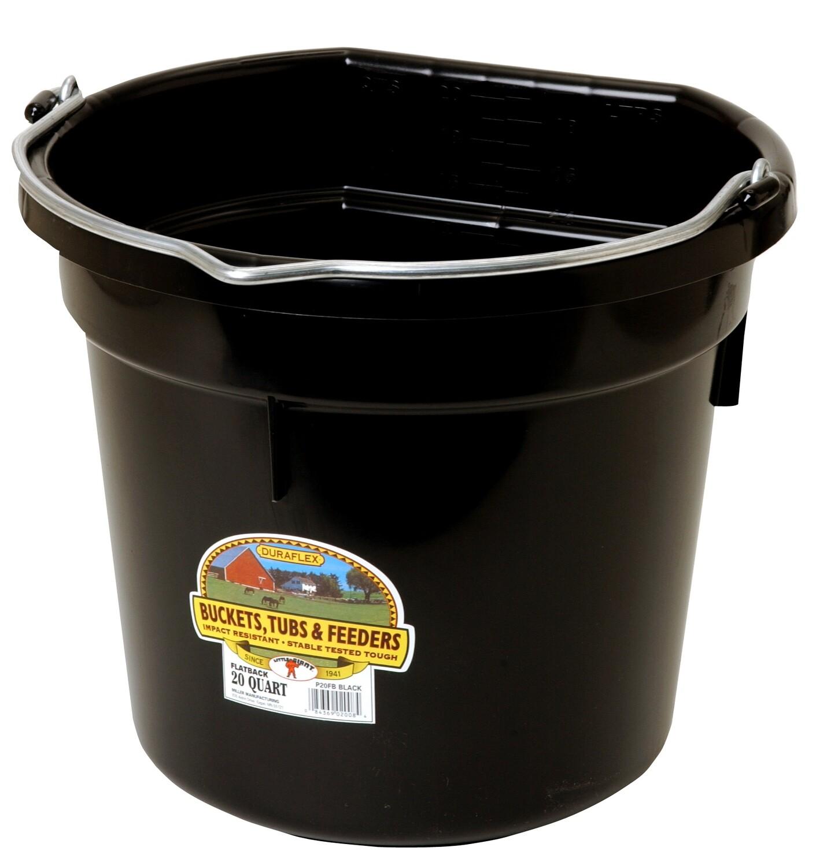 Little Giant Flat Back 20qt Water Bucket