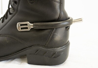 Rubber Covered Prince of Wales Spurs