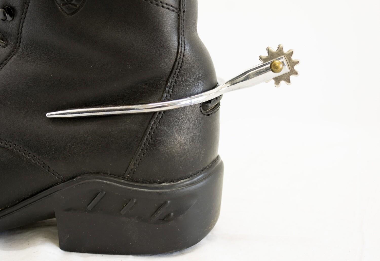 Jack's Men's Slip On Rowel Spurs