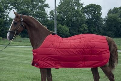 Kensington Red Quilted Winter Blanket