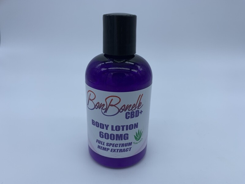 Wholesale Skin Moisturizer CBD Lotion 600mg