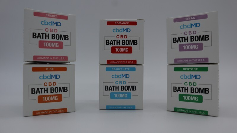 cbdMD 100 mg Rejuvenate Bath Bomb (cloned)