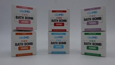 cbdMD 100 mg Bath Bomb