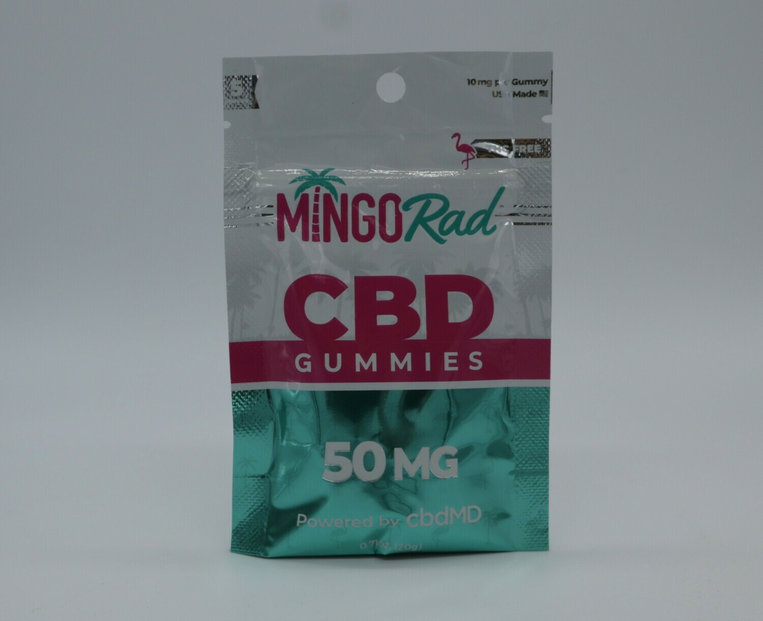 cbdMD 300 mg Tropical Mix Gummies