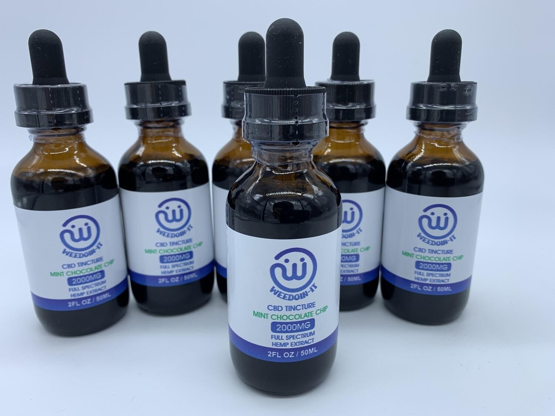 Weedoin-it Flavored Tinctures