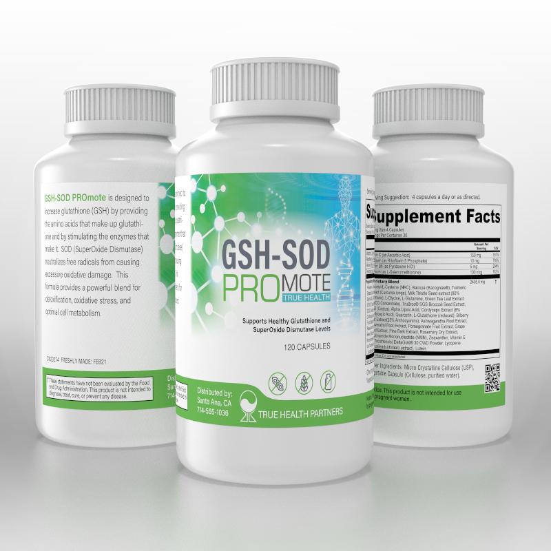 GSH-SOD PROmote TRUE HEALTH