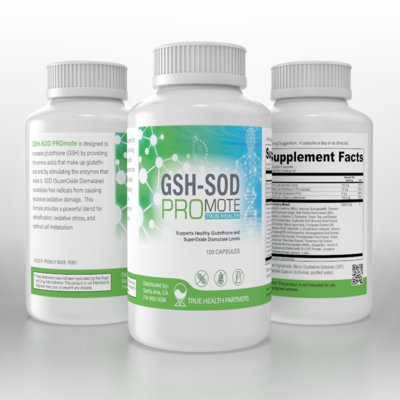 GSH-SOD PROmote TRUE HEALTH
