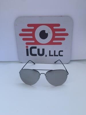 Aviator Large Men Sunglasses-Mirrored
