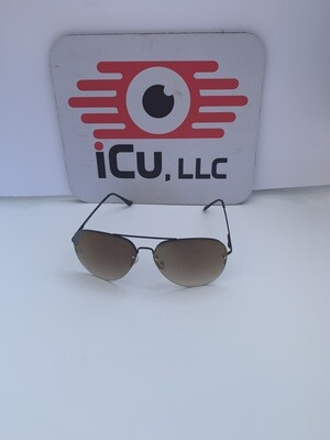 Aviator Large Men Sunglasses - Mirrored/Brown
