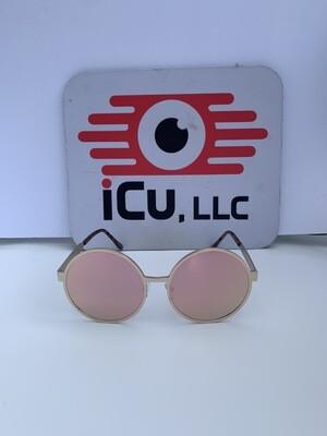 Round Oversized Women Sunglasses - Pink