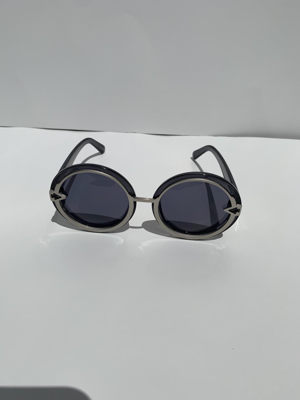 Oversized Women Sunglasses - Black
