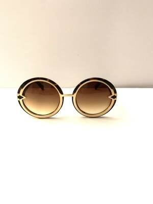 Oversized Women Sunglasses - Tortoise