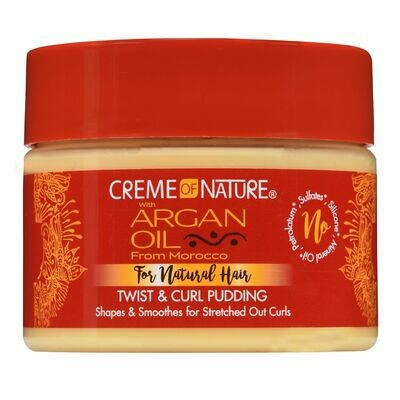 ARGAN TWIST AND CURL PUDDING