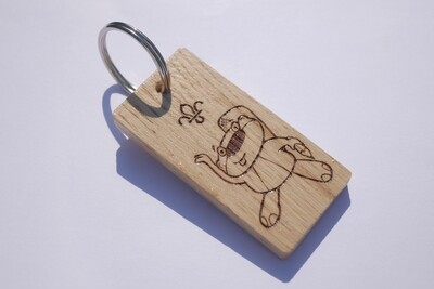 LIMITED EDITION - Beaver Keyring