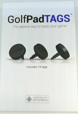 GolfPad Tags, New