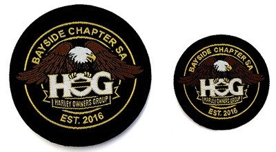 Bayside Est. Patches (Round)