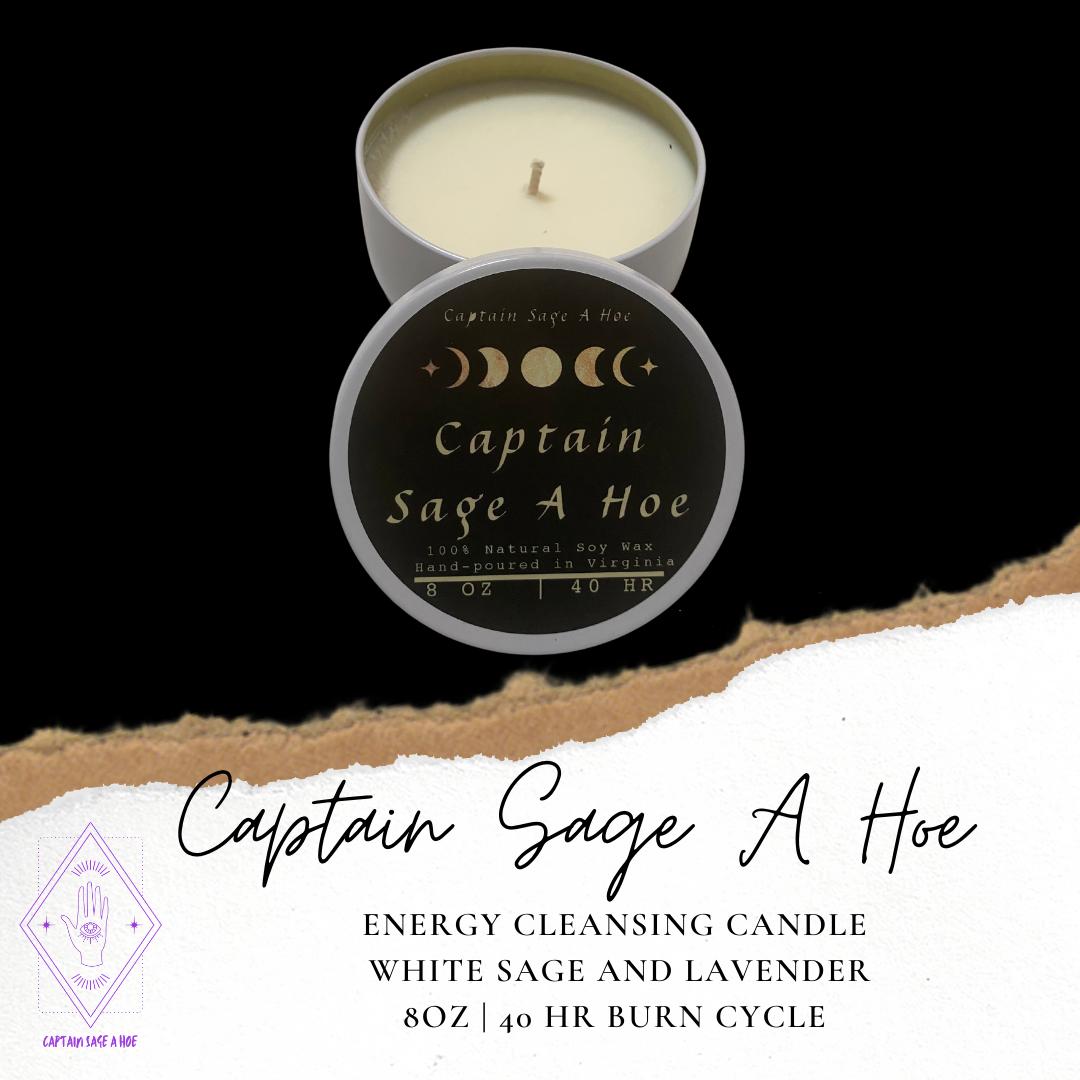 Captain Sage A Hoe Candle