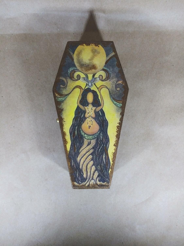 Nature Goddess Coffin