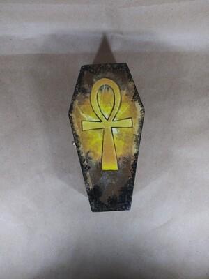 Golden Ankh Coffin