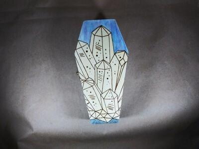 Sea Crystals Coffin