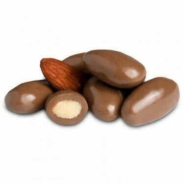 Milk Chocolate Covered Almonds (8 oz)