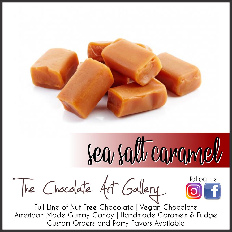 Sea Salt Caramels (1 lb)