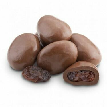 Raisins Covered in Milk Chocolate (8 oz)