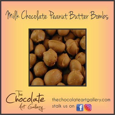 Milk Chocolate Peanut Butter Bombs (8 oz)