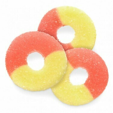 Strawberry Banana Gummy Rings (16 oz)