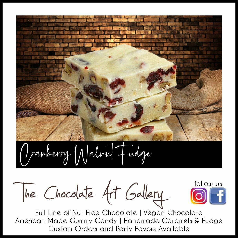 Cranberry Walnut Fudge (2 LBS)