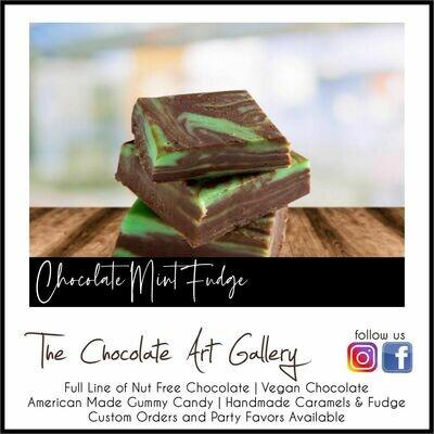 Chocolate Mint Fudge (2 LBS)