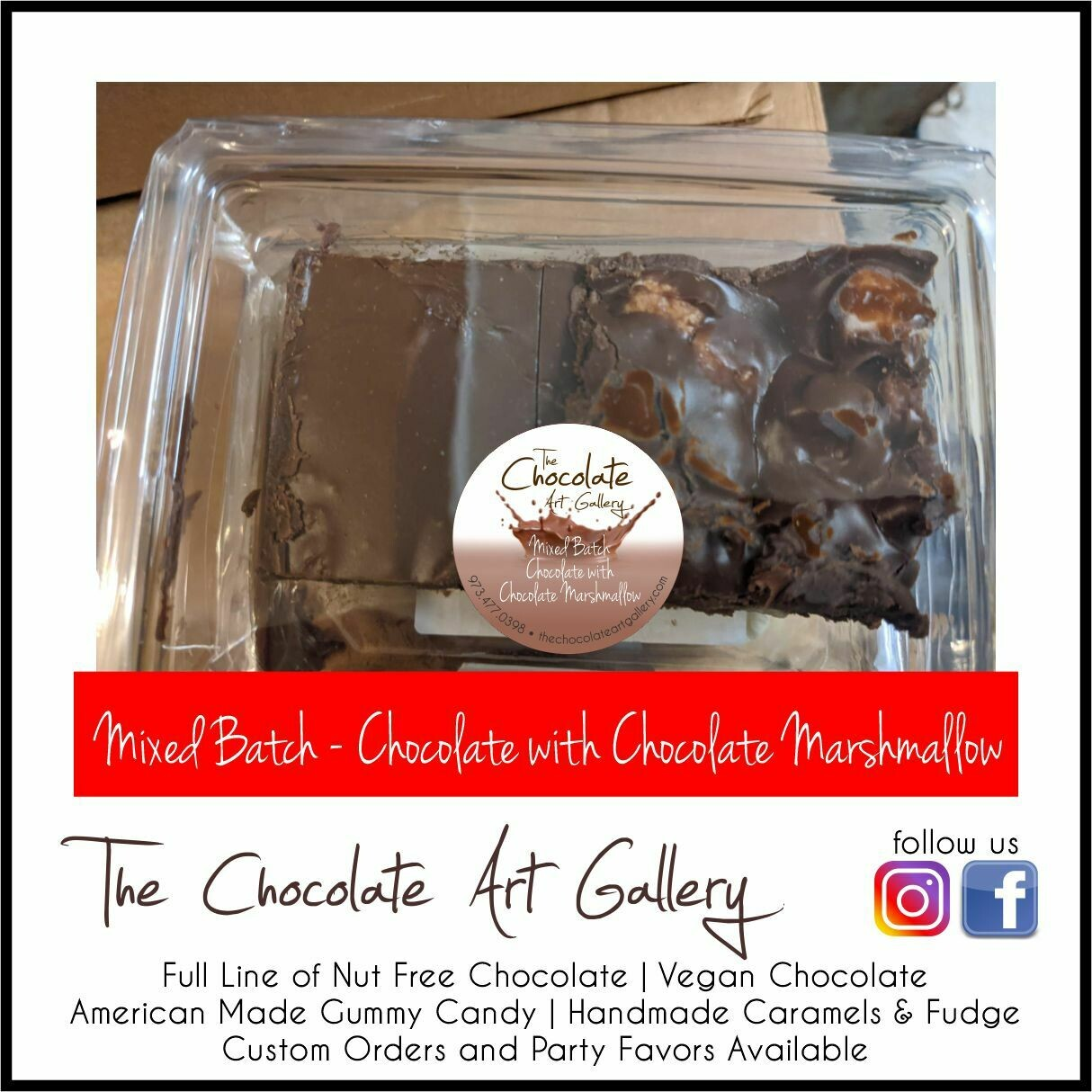 Mixed Batch - Chocolate with Chocolate Marshmallow (8 oz)
