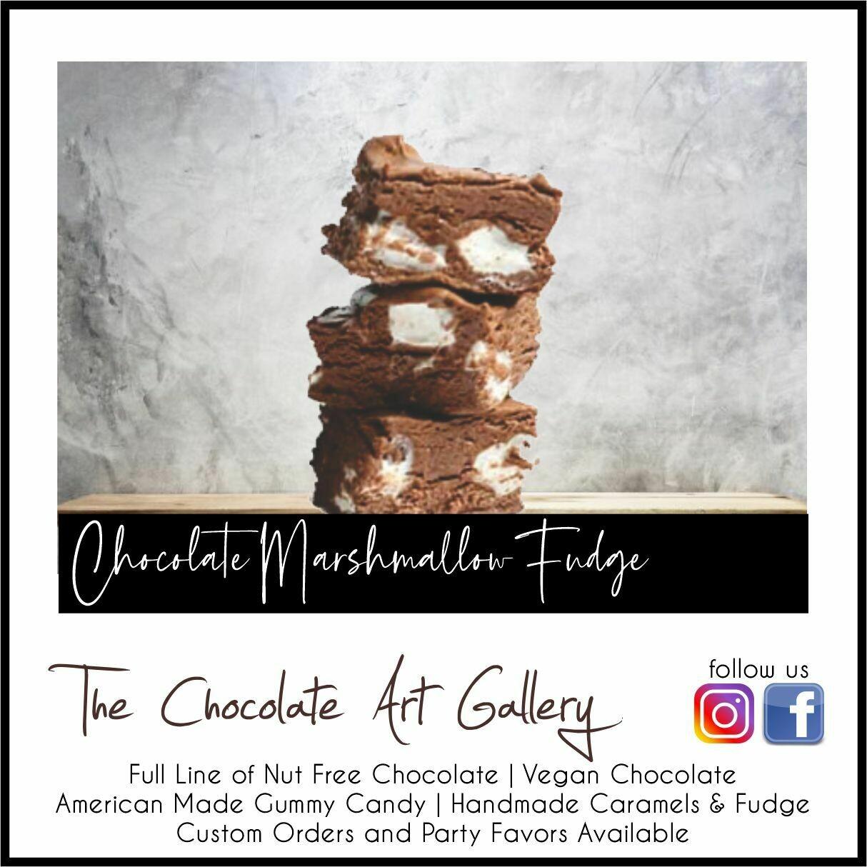 Handmade Chocolate Marshmallow Fudge (8 oz)