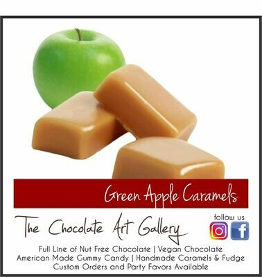 Green Apple Caramels (1 lb)