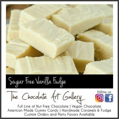 SUGAR FREE Vanilla Fudge (12 oz)