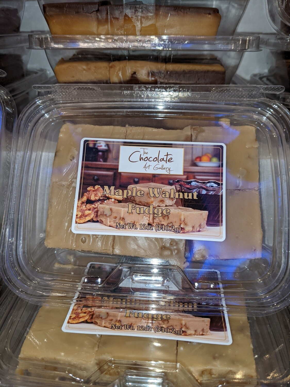 Maple Walnut Fudge (12 oz)