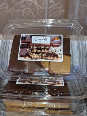 Peanut Butter and Chocolate Fudge (12 oz)