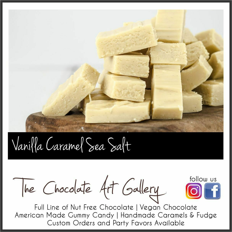 Caramel Sea Salt Vanilla Fudge (12 oz)