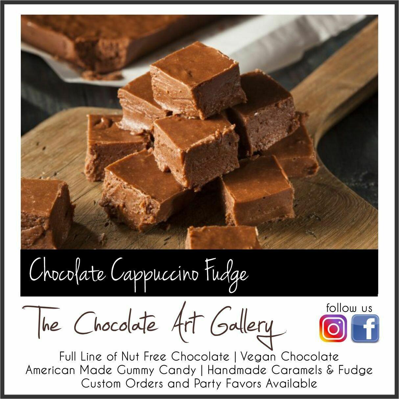 Chocolate Cappuccino Fudge (12 oz)